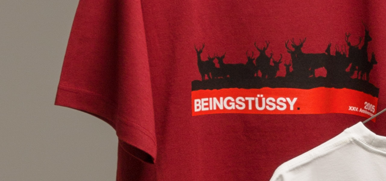 Stussy Beinghunted Beingstussy T-shirt 01